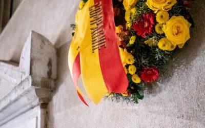 Hommage aux victimes de l'Escalade.